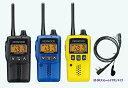トランシーバー 特定小電力 無線機 インカム ケンウッド トランシーバー UBZ-EA20R + HD-24K(ストレートコード) イヤホンマイクセット