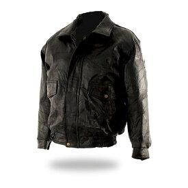 バイク 本革 レザージャケット 革ジャン ライダースジャケット メンズ パッチワーク アメリカン USサイズ 大きいサイズ