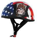 なんとヘルメットバックル付!【送料無料!(条件あり)】日本未発売!限定価格!SKID LID オリジナルハーフヘルメットPOW MIA 希少!バイクに!S・M・...
