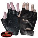 【送料無料!】日本未発売! セール価格! ホットレザー [Fingerless Leather Unlined Glove] フィンガーレス・レザー・…