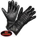 【送料無料!(条件あり)】日本未発売! セール価格! ホットレザー [Gauntlet Glove With Quilted Lining] ガントレット・グロ...