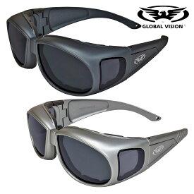GLOBAL VISION バイク ゴーグル サングラス Outfitter A/F 米国直輸入 スモークレンズ ANSI Z87.1規格適合 両面曇り止めコーティング UV400 飛散防止加工 耐擦傷 グローバルビジョン アウトフィッター アンチフォグ オートバイに!