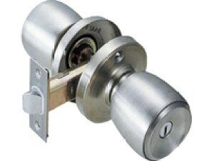 ドアノブ 鍵付き間仕切錠 [室外からも鍵できるタイプ]キー3本付き
