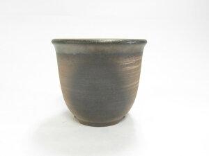萬古焼 えびね鉢 還元金吹4号 山野草鉢 根が張りやすく、通気がよい、植物に合わせやすい鉢です。