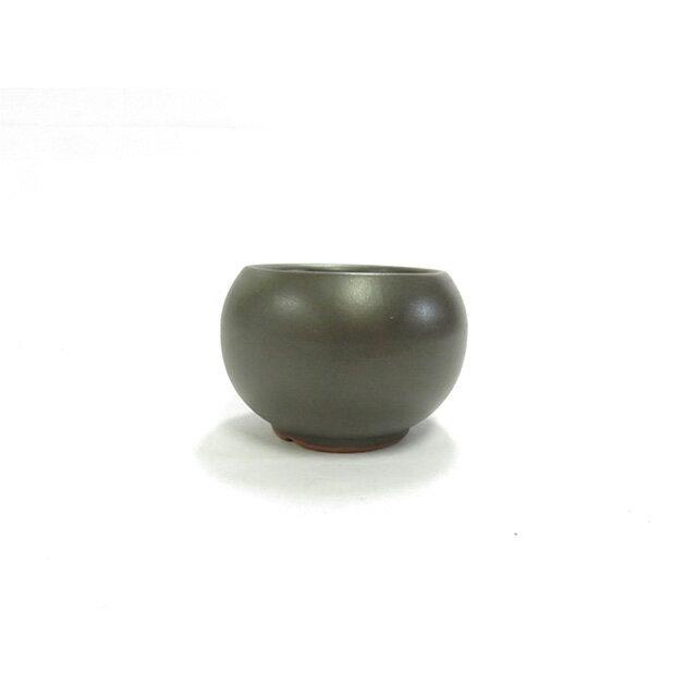 黒2.5号丸鉢 1502-CS 観葉植物 山野草ミニ盆栽に最適です。