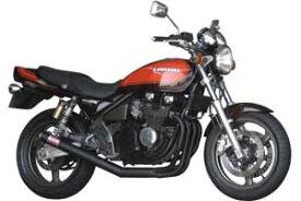96-08 ゼファー400Χ モリワキ ワンピース ブラック マフラー [MORIWAKI ZEPHYR400Χ '96-08 FULL EX. ONE PIECE BLACK CAT.] Kawasaki/カワサキ ( 01810-40223-00 )