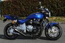 ゼファー1100 モリワキ ワンピース ブラック マフラー [MORIWAKI ZEPHYR1100 ONE-PIECE BLACK] Kawasaki/カワサ...