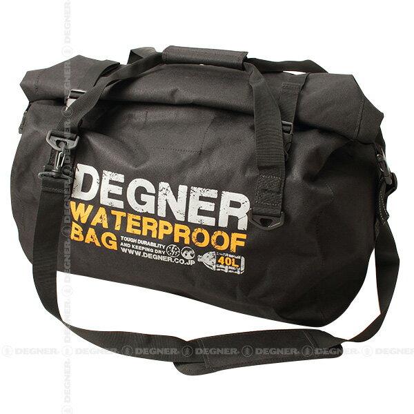 【デグナーWEB正規代理店】 ウォータープルーフボストンバッグ ブラック ( nb-115-bk )