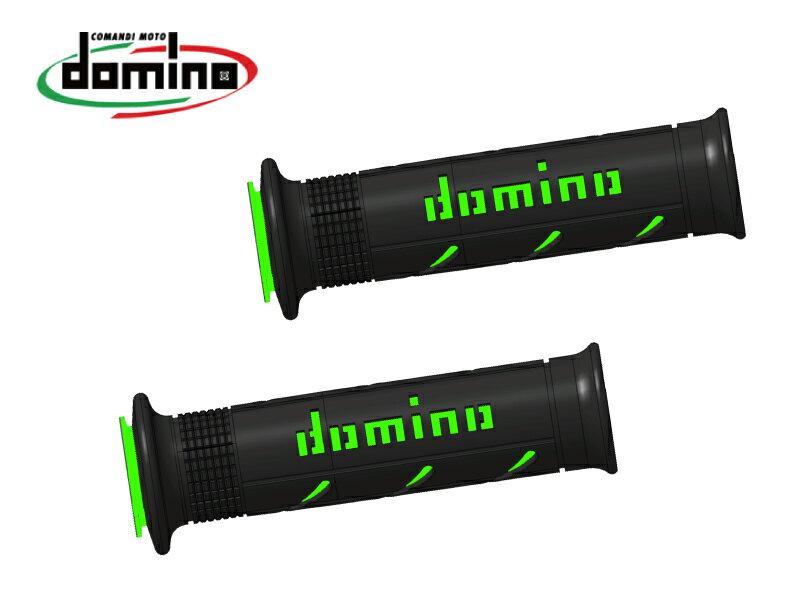 domino/ドミノ  グリップ ストリートタイプ ブラックXグリーン