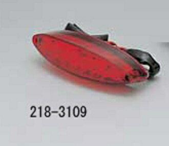 KIJIMA/キジマ テールランプASSY LED RED スリムキャッツアイ (品番 218-3109)
