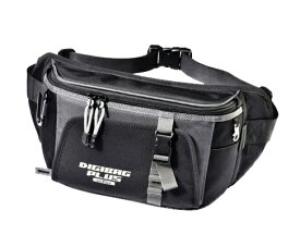 TANAX motofizz / タナックス モトフィズ  デジバッグプラス(スリムウエスト) ブラック (ウエストバッグ) 容量1.5リットル