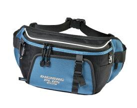 TANAX motofizz / タナックス モトフィズ  デジバッグプラス(スリムウエスト) ブルー (ウエストバッグ) 容量1.5リットル