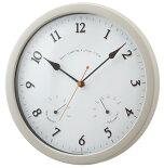 電波時計室温時計付きコニフェール