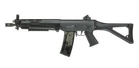 【同梱不可】 ICS SIG551 SWAT BK AEG (JP Ver.)【配送業者:佐川急便限定】