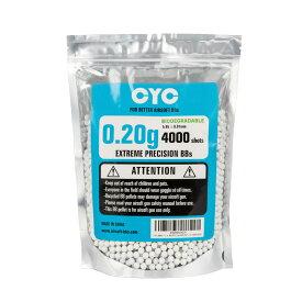 【ポイント10倍!10月17日8時59分まで】CYC精密バイオBB弾 0.2g 4000発入(生分解性) 1袋