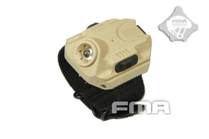 【大感謝セール】FMA リストバンド型 LED フラッシュライト DE