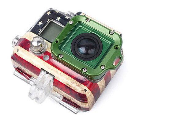 【最安値に挑戦!3月29日8時59分まで】TMC GoPro HERO3+専用 ランヤードリング HERO3+対応 GN