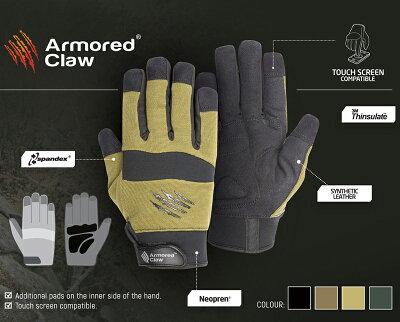 ArmoredClawShooterColdWeatherタクティカルグローブMサイズ/Black