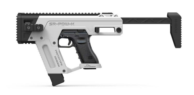 【予約 6月末頃入荷予定】SRU Glock PDW Advanced キット Snow White (AEP/GBB対応)