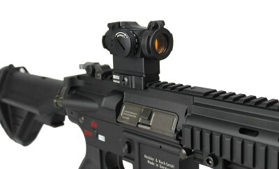 ACE1ARMSAimpointMicroT-2タイプレッドドットサイトBK