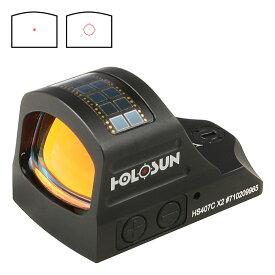【只今ポイント10倍!9月29日8時59分まで】HOLOSUN HS407C X2 リフレックスレッドドットサイト