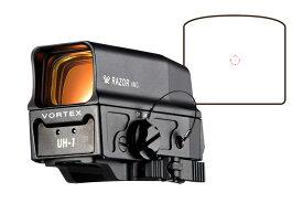 【ポイント10倍!4月7日8時59分まで】Vortex Optics Razor AMG UH-1タイプ リフレックスドットサイト Black