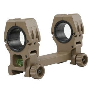 【パーツ類ポイント5倍!7月27日8時59分まで】FMA American Rifle Company M10 QD-Lタイプ水平器付デュアルマウント DE