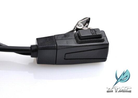 【ポイント10倍!6月11日8時59分まで】Z-Tactical FBIスタイル アコースティックヘッドセット ICOM用
