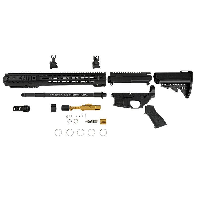 Guns Modify SAI GRY GBB コンバージョンキット Black (東京マルイM4 MWS対応/SAI Licensed)