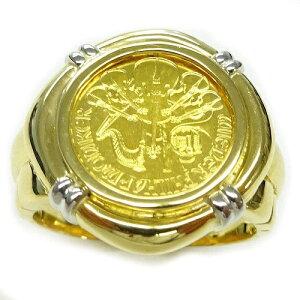 純金ゴールド コインリング ウィーンハーモニー 24金 1/25oz 4euro GOLD999.9 2020年メンズ 指輪 #18号サイズ【レディース,激安,特価,通販】