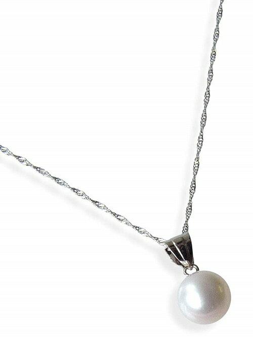 プラチナ和珠本真珠ペンダント約7.0ミリアップ【送料無料】【6月誕生石真珠】【レディース,激安,特価,通販】