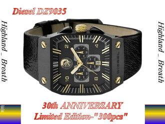 The rest two! «Limited Edition 300 pieces» DIESEL / diesel DZ9035 ☆ 30th anniversary limited edition