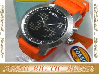 FOSSIL fossil BIG TIC gender Unisex Watch BG2218