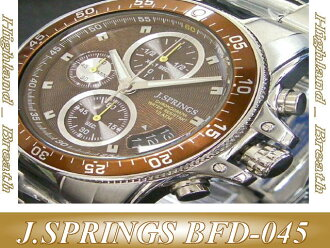 J.SPRINGS watch BFD045 mens chronograph SII BFD-045