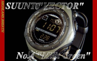 End of production and last in stock Suunto SUUNTO VECTOR Milit.Green SS010600F10