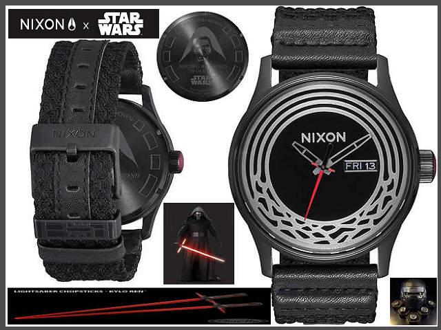≪即日発送≫★STAR WARS スターウォーズ腕時計コラボ★ Sentry Wopven SW ニクソン 腕時計 nixon 時計 A1067SW2444-00