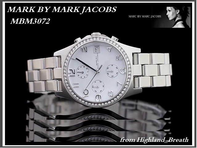 本物≪即日発送≫[MARC BY MARC JACOBS・マークバイマーク ジェイコブス 腕時計] MBM3072 メンズ/レディース/男女兼用 腕時計 ユニセックス