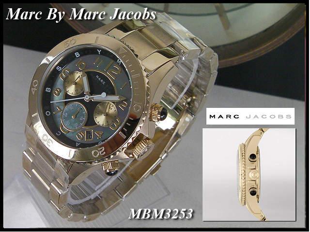 本物≪即日発送≫[MARC BY MARC JACOBS・マークバイマーク ジェイコブス 腕時計] MBM3253 メンズ/レディース/男女兼用 腕時計 ユニセックス