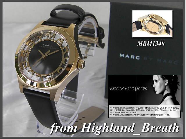 本物≪即日発送≫男女兼用:[MARC BY MARC JACOBS・マークバイマーク ジェイコブス 男女兼用腕時計 ] MBM1340