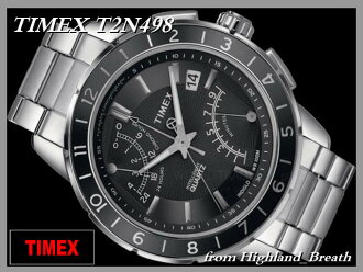-Timex mens Flyback chronograph T2N498