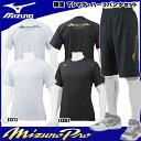 【限定モデル】ミズノ ミズノプロ Tシャツ・ハーフパンツ 12JA7T83 12JD7H82 トレーニングウエア 野球
