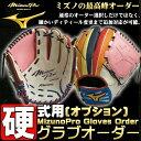 ミズノプロ オプションオーダー グラブ 硬式用 BSSショップ限定 日本生産 波賀 HAGA JAPAN グローブ 野球 グラブオーダー
