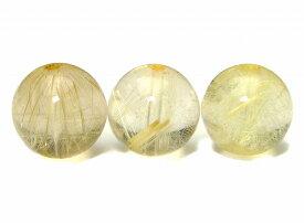 55412  今月の半額 1粒売り 12mm AAA タイチンルチルクォーツ 針水晶 送料無料有 ブラジル産 天然石 パワーストーン