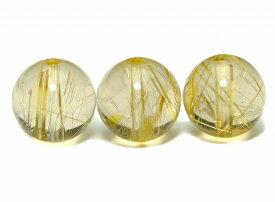 55413  今月の半額 1粒売り 12mm AAAA タイチンルチルクォーツ 針水晶 送料無料有 ブラジル産 天然石 パワーストーン