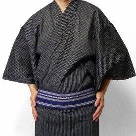 【レンタル】〔浴衣 レンタル〕ゆかたレンタル(男物浴衣セット)「Mサイズ」(夏用/男性用メンズ) (9032)
