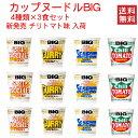 日清カップヌードル 日清食品 カップヌードル big ビッグ 4柄×3個 12食セット 関東圏送料無料