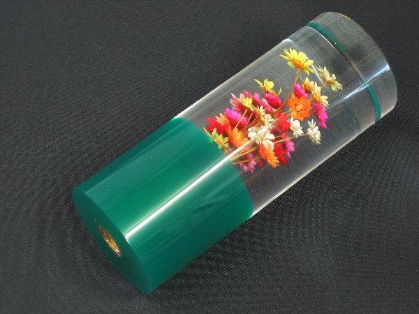 水中花 シフトノブ 緑