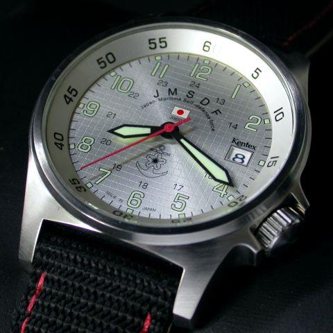 【送料無料】自衛隊腕時計/海上自衛隊スタンダードモデル 日本製ミリタリー時計 JSDF KENTEX ケンテックスS455M-03正規品【楽ギフ_包装】