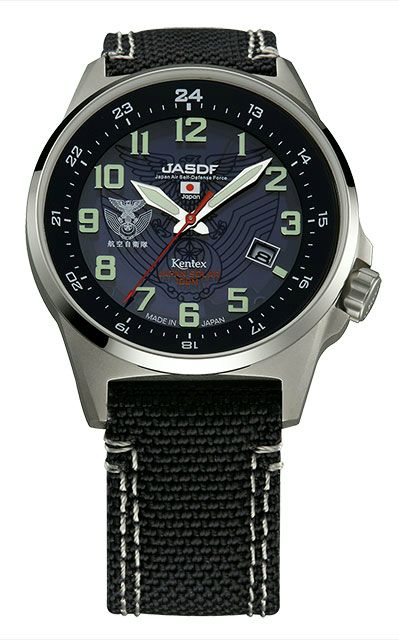 Kentex自衛隊腕時計:J-SOLAR航空自衛隊ソーラースタンダードモデルS715M-02正規品 JASDF ケンテックス