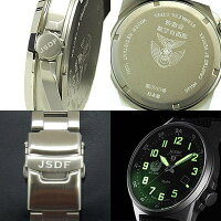 Kentex自衛隊腕時計:J-SOLAR航空自衛隊ソーラースタンダードメタルバンドモデルS715M-05正規品JASDFケンテックス